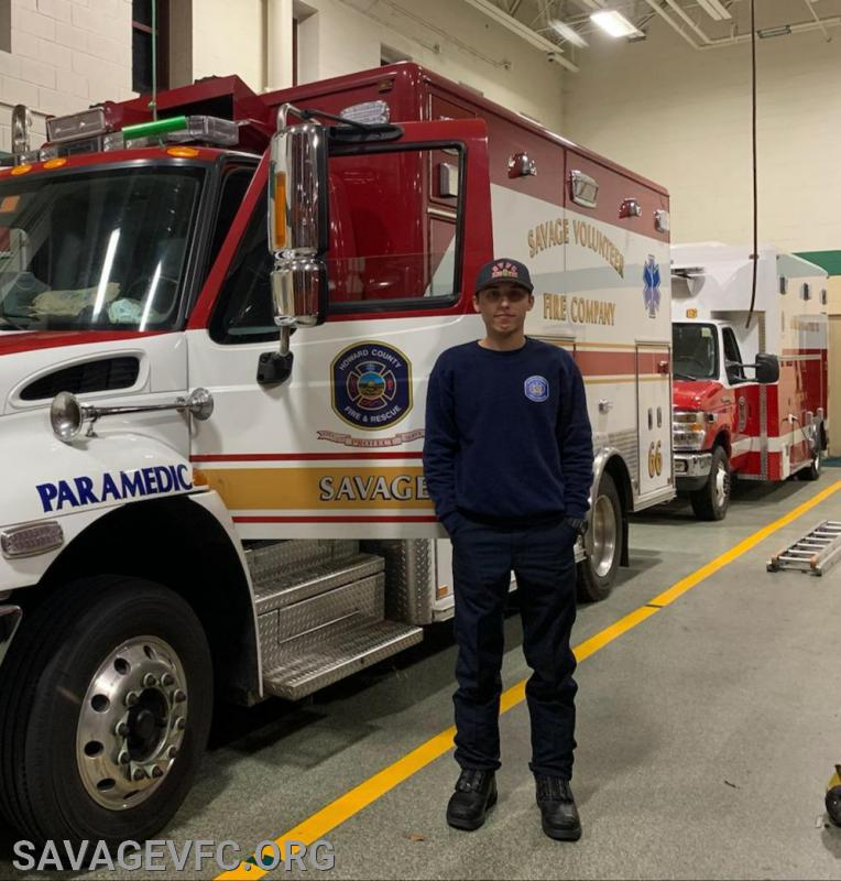 Steve Harvey next to Ambulance 66